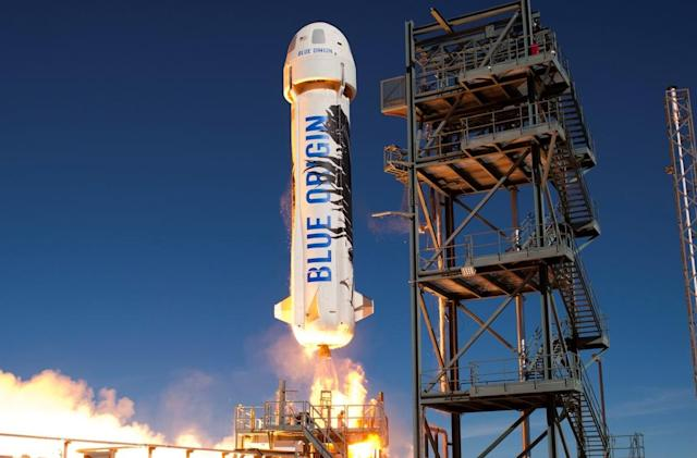 Jeff Bezos' space company plans to launch tourist flights by 2018