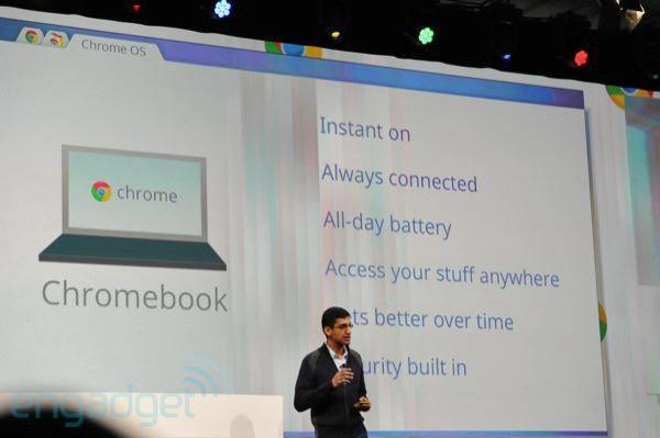 Google: 'no plans' for Chrome OS on tablets, any other form factors