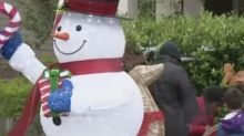 Family fights back after being told to take down Christmas decorations: 'We're not going to do it'