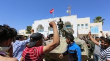 Tunisia protester 'accidentally' killed in south