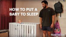 You need to watch this dad's hilarious viral video on how to get your baby to sleep
