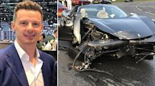 Millionaire supercar dealer spared jail after £180,000 Ferrari 'roundabout racing' crash
