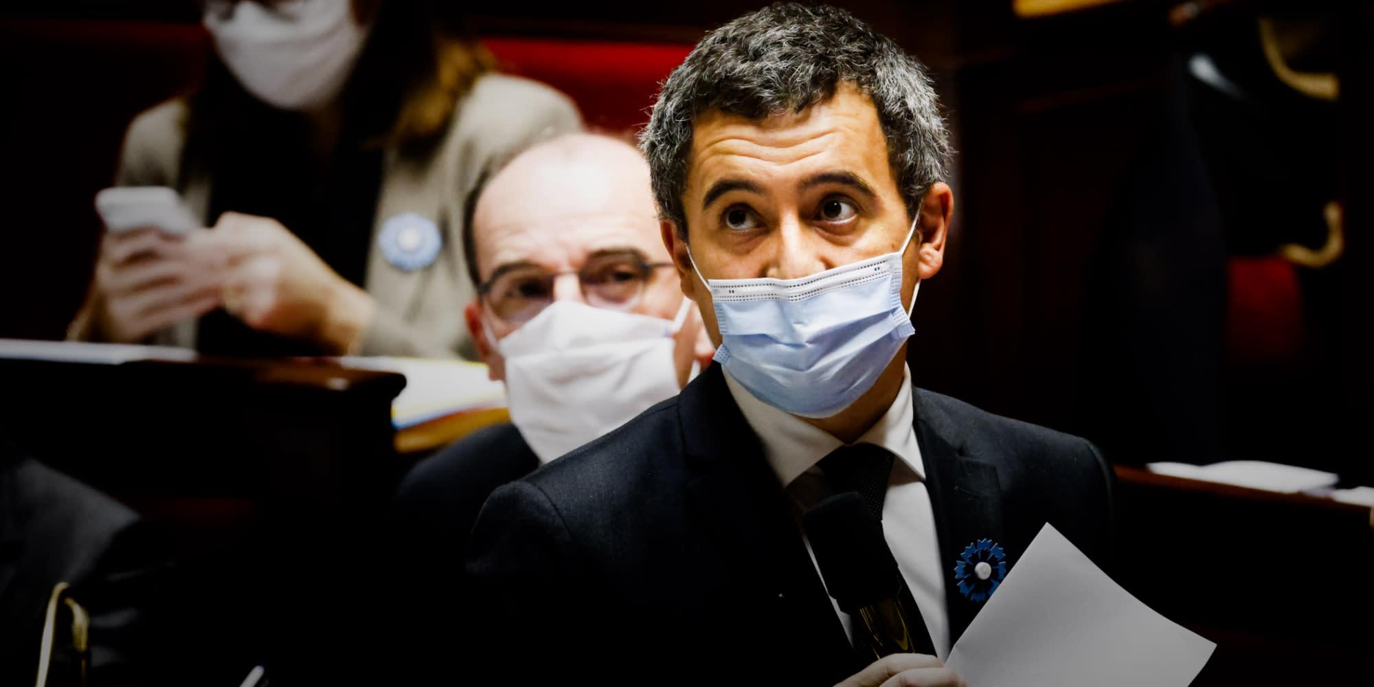 """Loi """"sécurité globale"""" : devant l'Assemblée, Darmanin soutient l'article 24 et la police"""