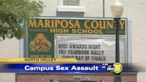Mariposa County High School student accused of sexual assault