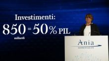 Ania: assicurazioni a sostegno Paese, investimenti a 850 miliardi