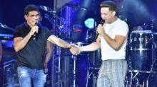Gabriel Diniz ganha homenagem de Wesley Safadão em festival no Recife