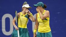 Aussie tennis medal hopes down to doubles