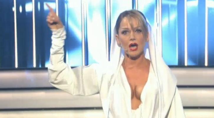 Inka Bause: Heiße Kopie von Kylie Minogue [Video]
