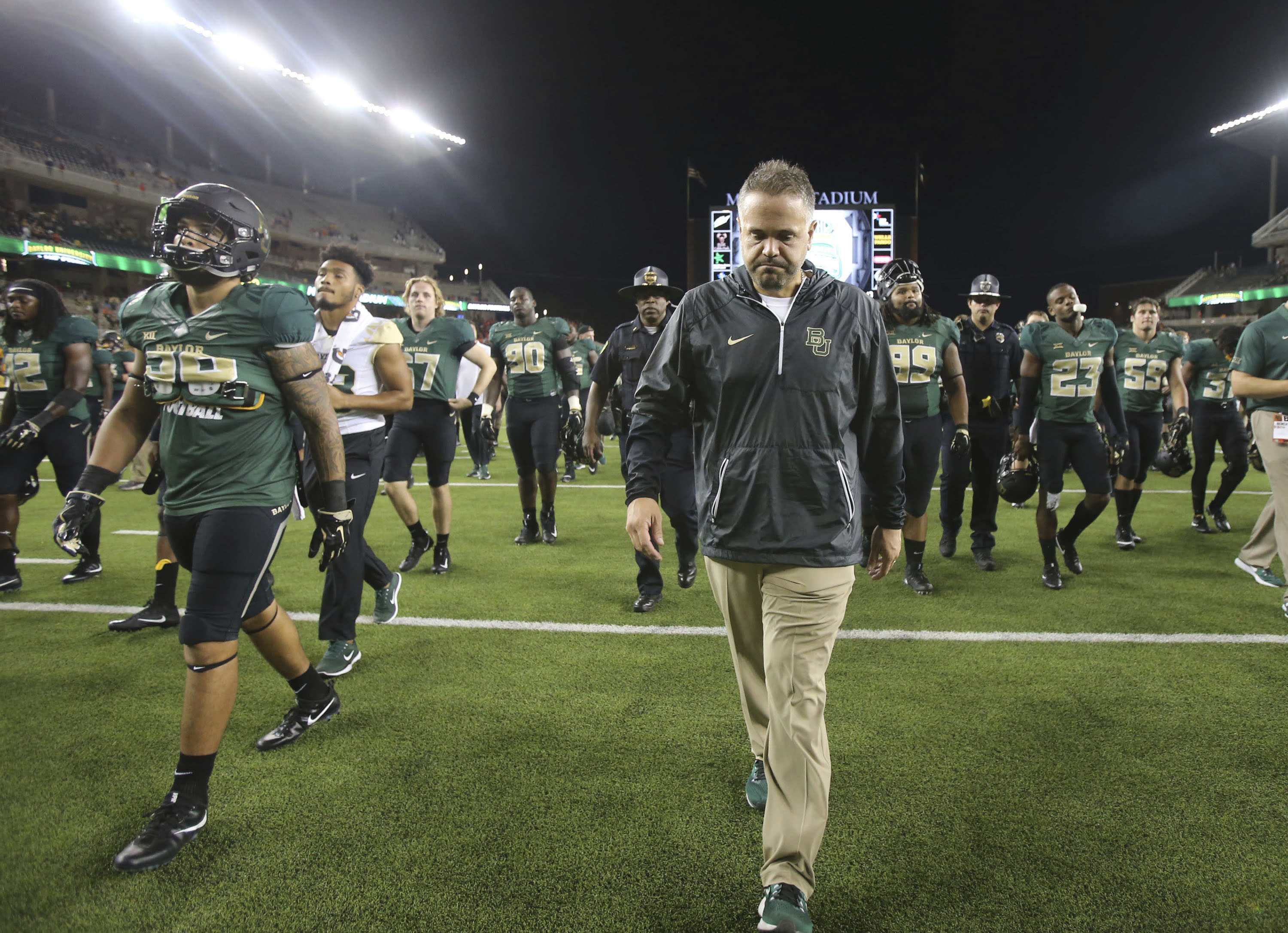 Baylor S Matt Rhule Has The Toughest Job In College Football