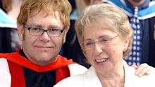 Elton John stopped speaking to his mother for seven years after David Furnish remark