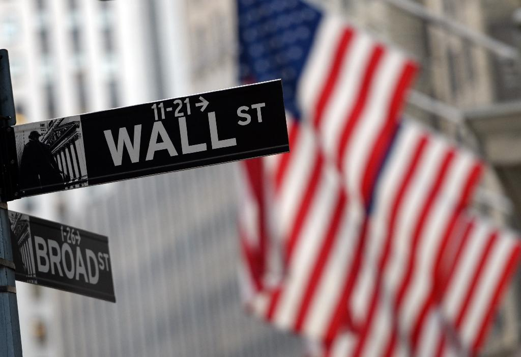 Wall Street stocks have been volatile in recent weeks amid mixed messages on the likelihood of an interest rate hike (AFP Photo/Timothy A. Clary)