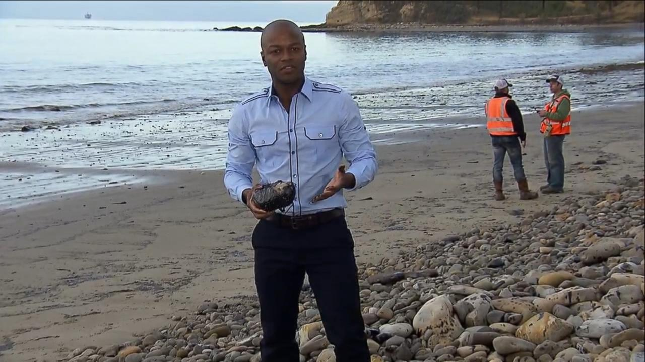 What The California Oil Spill Looks Like Video
