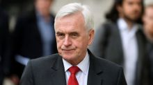 UK opposition Labour's McDonnell says must work to block a 'no deal' Brexit