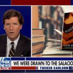 Yep, Tucker Carlson Definitely Seems Turned on by Stacey Abrams' Romance Novels (Video)