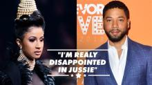 Cardi B says Jussie Smollett 'f***ed up Black History Month'