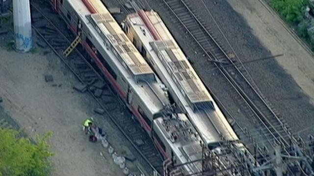 Two Commuter Trains Collide in Connecticut