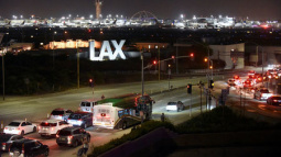 Los Angeles police say reports of gunfire at airport were false alarm
