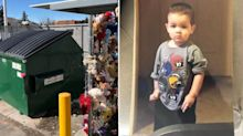 Tragic twist after toddler's body found in rubbish bin