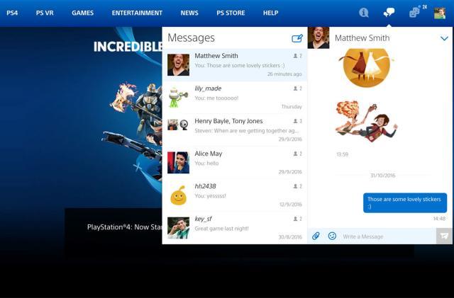Sony brings PSN toolbar to Playstation.com