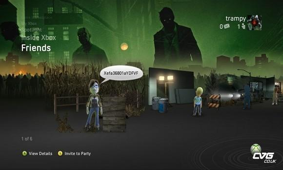 August OXM comes with exclusive Left 4 Dead NXE theme