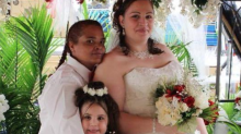 These women had their wedding at the Walmart where they work