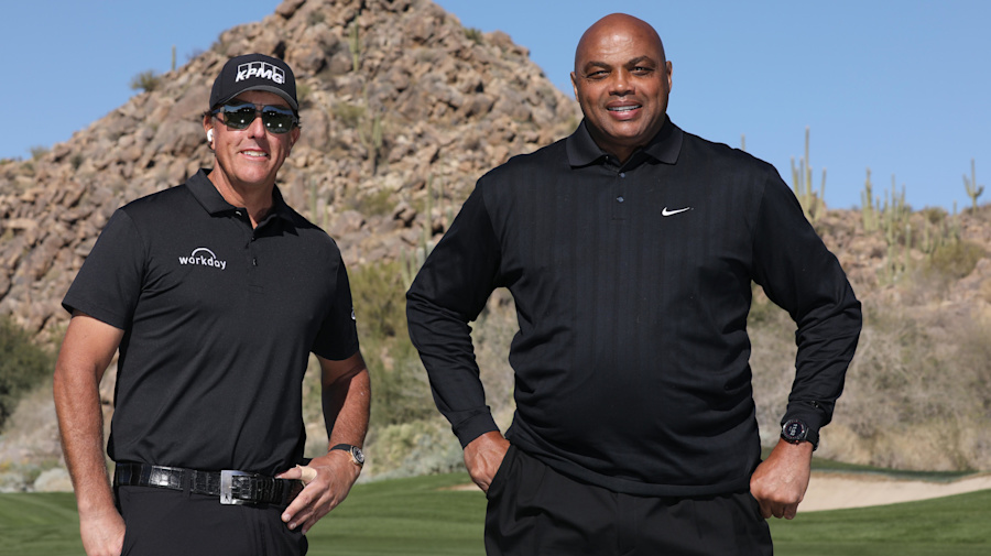 Mickelson carries Barkley to Match victory