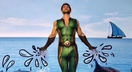 Chace Crawford's superhero suit in 'The Boys' calendar has eyeballs popping: 'This cannot be real, can it?'