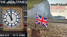 'Our time has come': How the national newspapers reacted to Brexit day