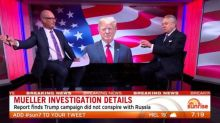 Mueller report finds Trump campaign 'didn't collude with Russians'