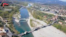 Coronavirus: se derrumbó un puente en Italia y no hubo víctimas por la cuarentena