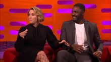 Idris Elba's foot fetish got in the way of a sex scene with Kate Winslet