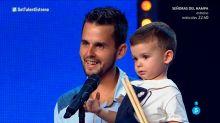 Hugo, un niño de 2 añitos, deja sin palabras al jurado de Got Talent España