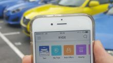 Transport app Ryde offers taxi booking service in Singapore