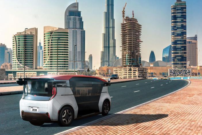 GM's Cruise will operate a robotaxi service in Dubai