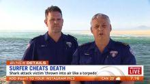Medics describe rescue of attacked surfer