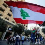 Hundreds of thousands take over streets as Lebanon's protests grow