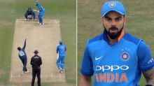 Virat Kohli left completely perplexed by incredible ball