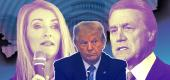Kelly Loeffler, President Trump, David Perdue. (Photo illustration: Yahoo News; photos: Getty Images)