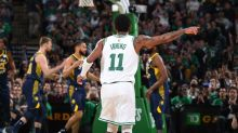 Kyrie Irving and the Celtics are rediscovering their playoff mystique together
