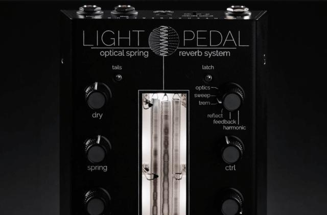 Gamechanger Audio introduces an optical spring reverb pedal