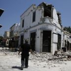 'Let's get the hell out of here' - quake off Greece and Turkey kills two