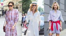 恤衫 + 連身裙 = 必顯瘦單品!任何身型都能穿的5款恤衫推介