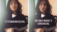 Mumbai Woman Sings Song About Consent; Dedicates it to MJ Akbar