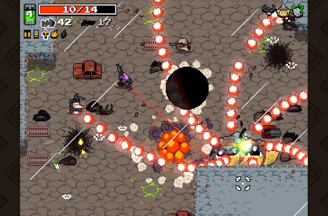 Radioactive shooter 'Nuclear Throne' hits PS4, Vita today