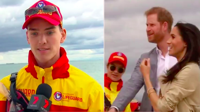 Prince Harry's hilarious comment about lifeguard