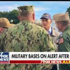 Military bases on alert after Naval Air Station Pensacola attack