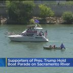 Trump Supporters Hold Boat Parade On Sacramento River