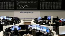 Stocks surge to record highs on hopes virus is peaking, gold ebbs