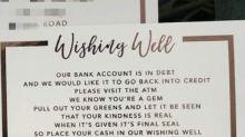Couple's 'greedy' wedding request slammed on social media