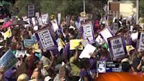 Thousands of L.A. County Workers Walk Off Jobs